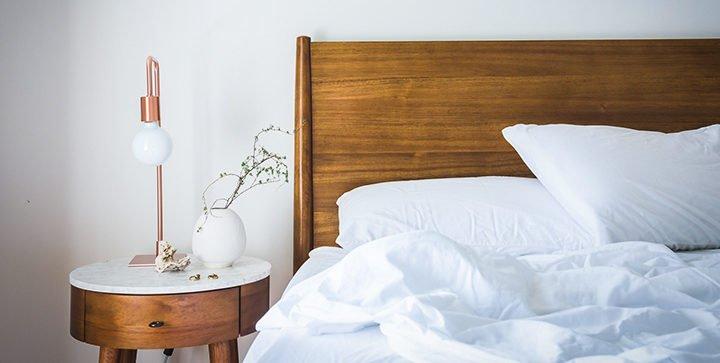 Titelbild: Ein leeres Bett