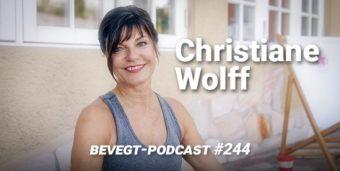 Die Yogalehrerin Christiane Wolff
