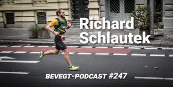 Titelbild: Richard Schlautek beim Laufen