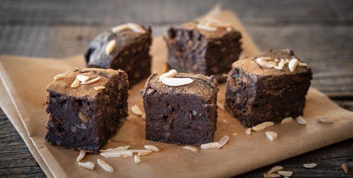 Vegane Schoko-Protein-Brownies