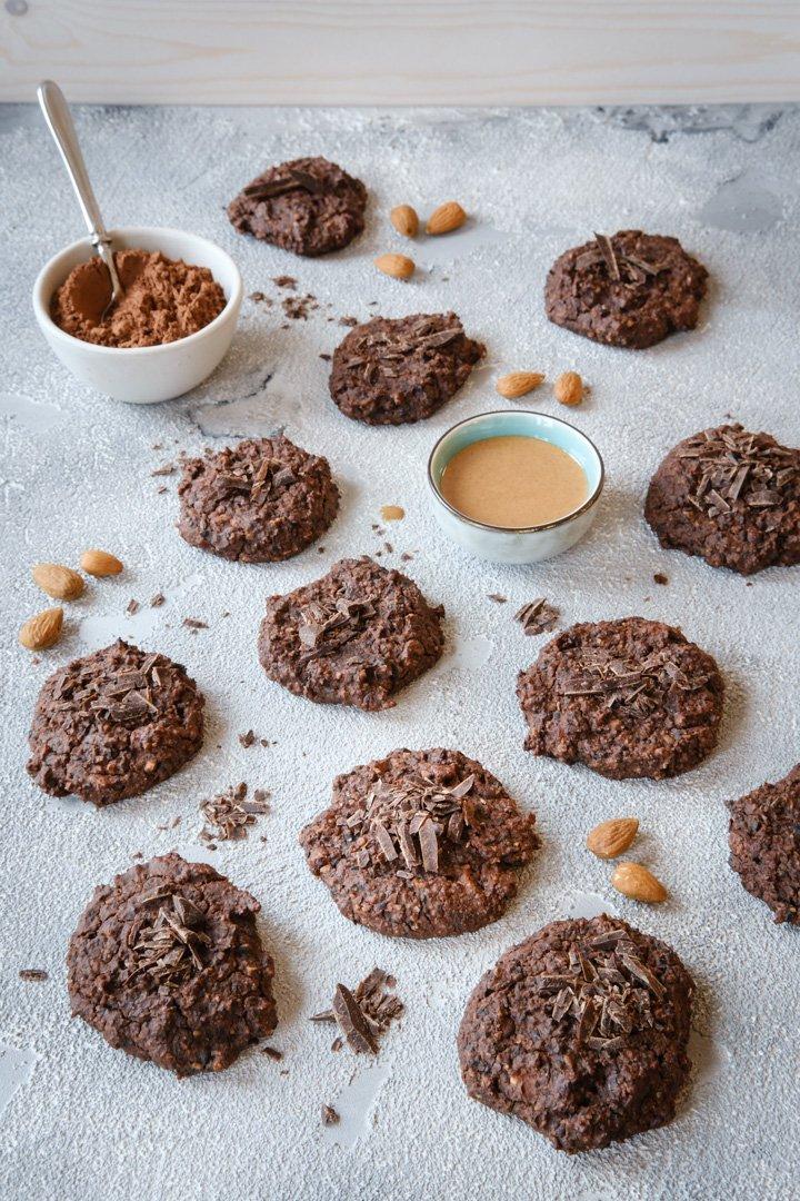 Vegane Post-Run-Cookies
