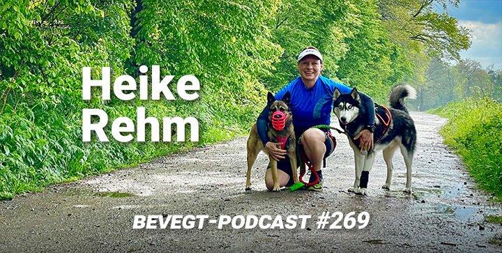Titelbild: Heike Rehm mit ihren beiden Hunden